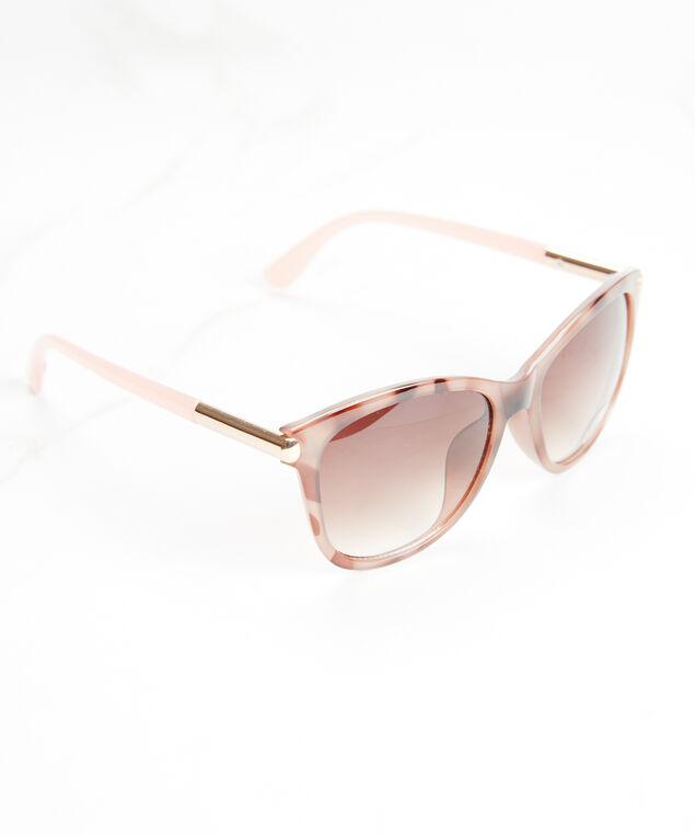 women's round torte sunglasses, Brown Torte