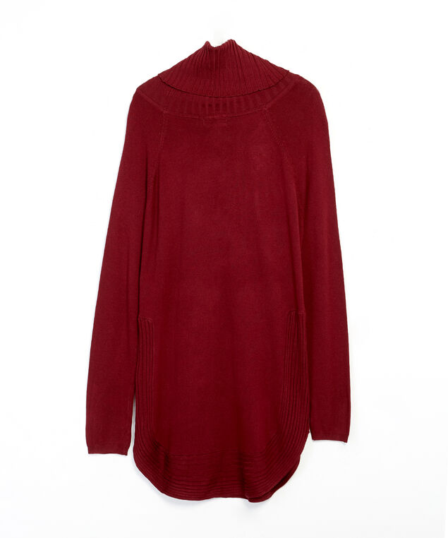 turtleneck popover - wb, Wine, hi-res