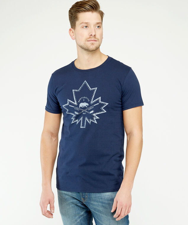 maple leaf patch, Navy