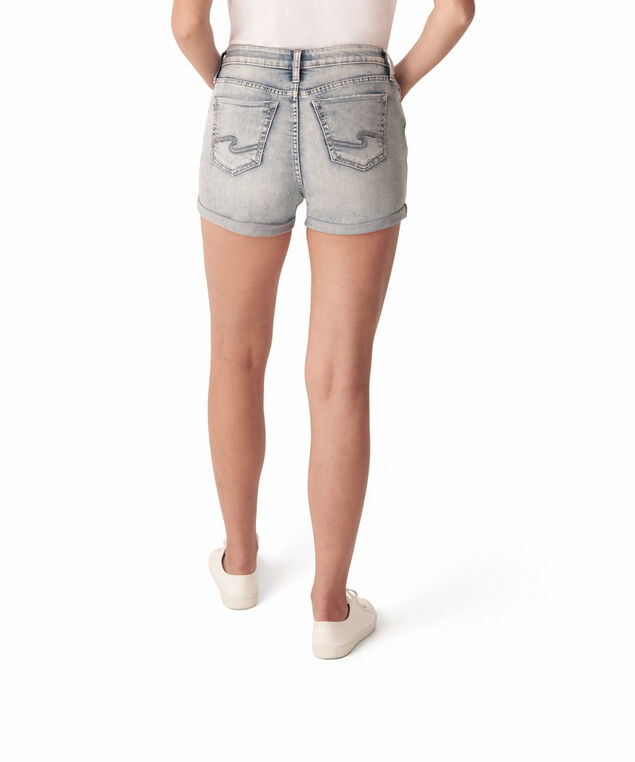 elyse short egX157 - wb, Medium Stone Waash