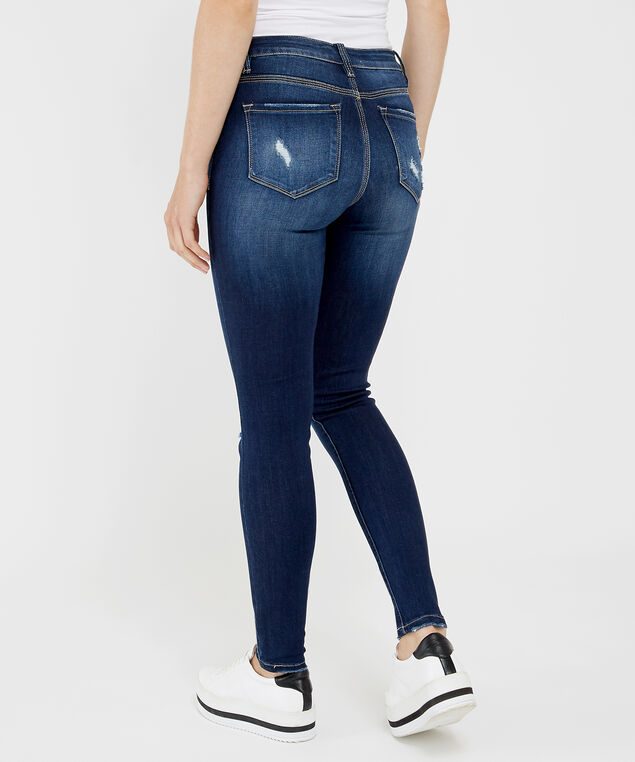 exposed button fly skinny kc31014,