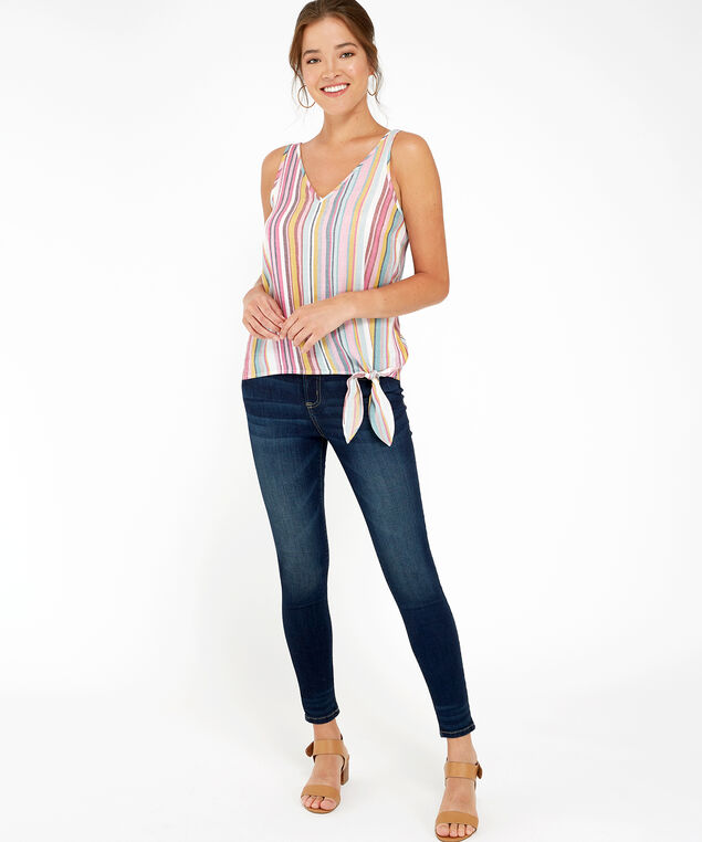 stripe tank, MULTI STRIPE, hi-res