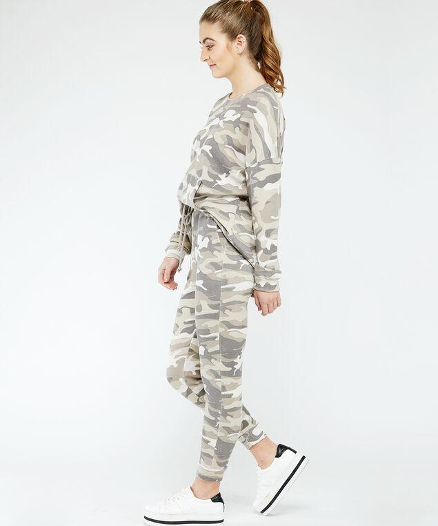 printed jogger - wb, Camo