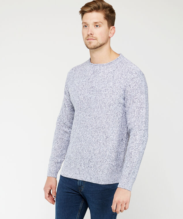 pullover sweater, Blue, hi-res