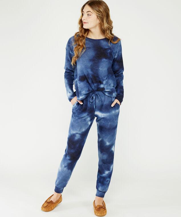 tie dye top, Blue