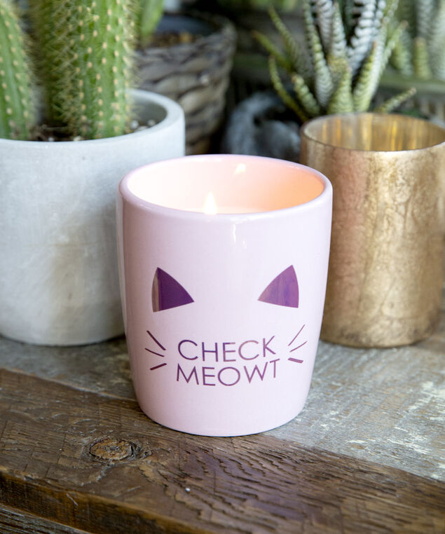 check meowt candle, ROSE, hi-res
