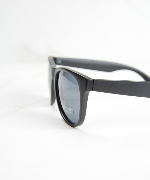men's classic sunglasses, Black