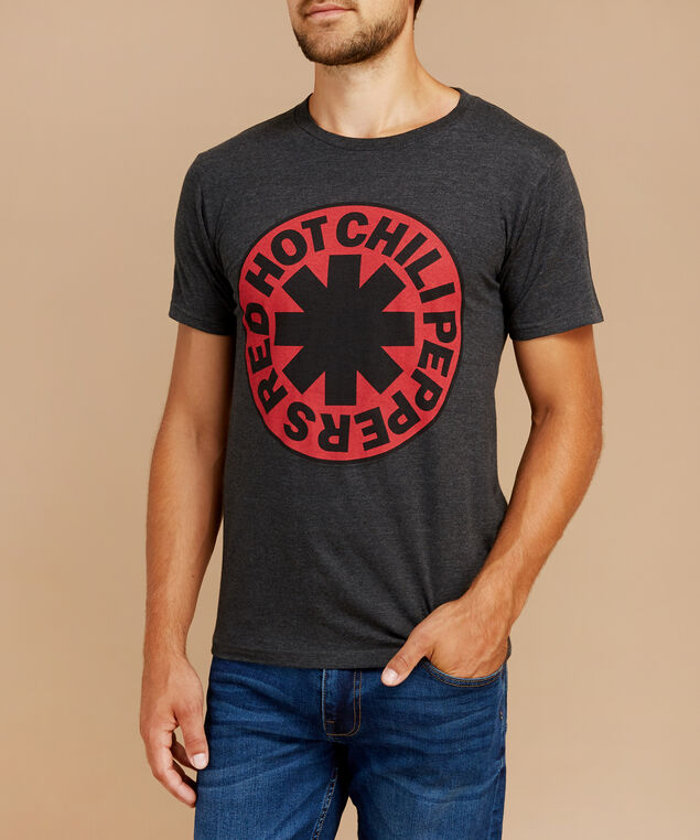red hot chilli peppers, CHARCOAL HEATHER, hi-res