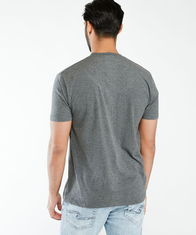 periodically gaming printed tee, Charcoal