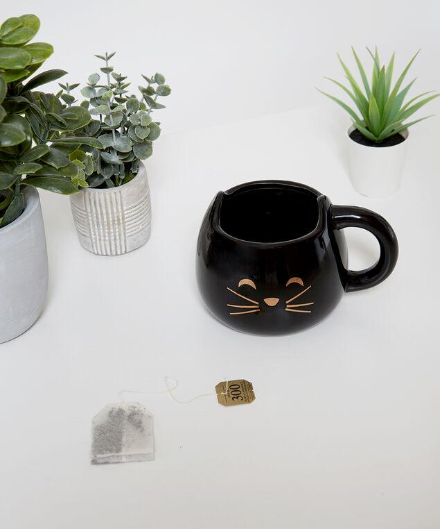 jumbo cat mug, BLACK, hi-res