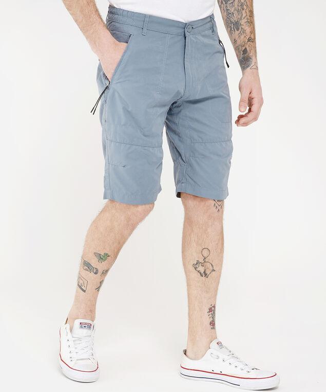 zipper front short - wb, STEEL, hi-res