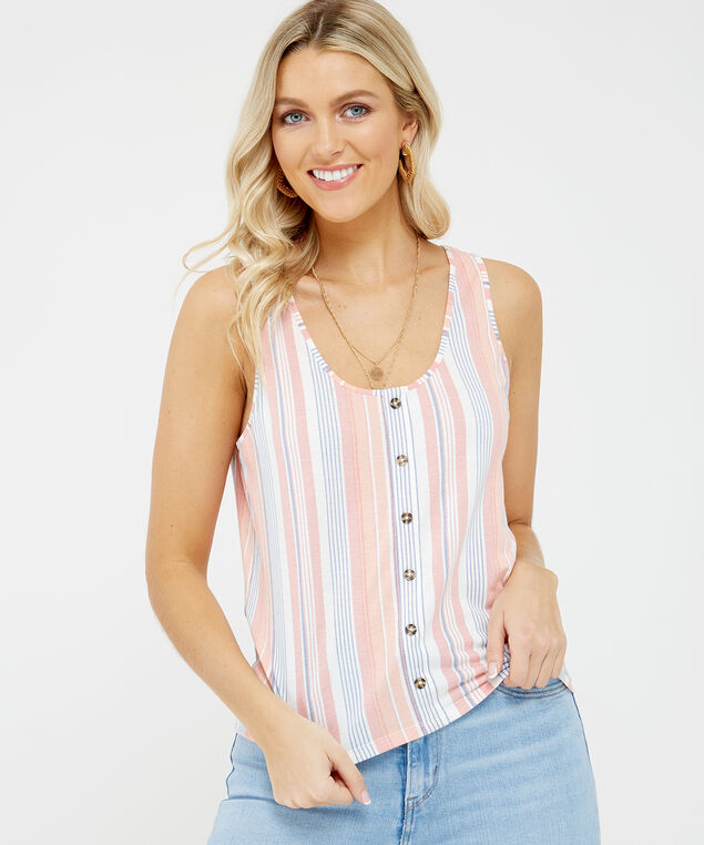 emmette, Cream/Coral Stripe, hi-res
