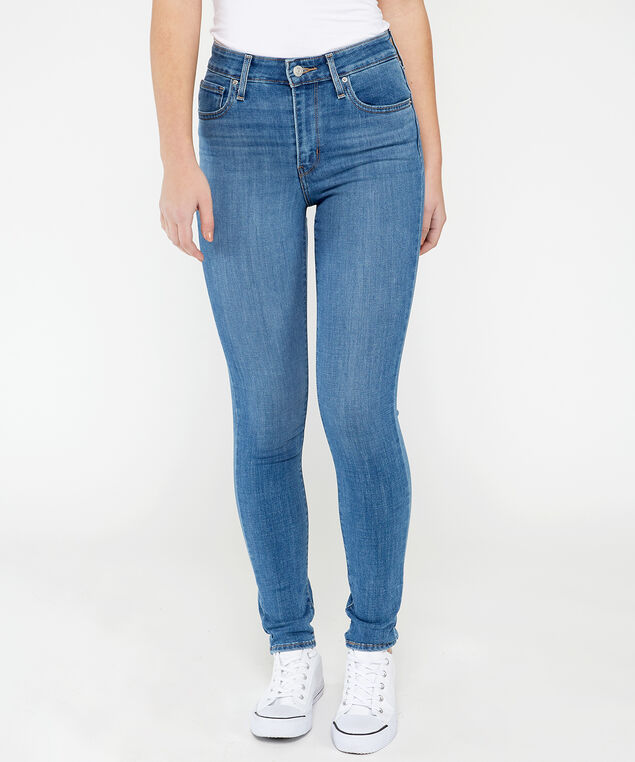 levis 721 highrise skinny,