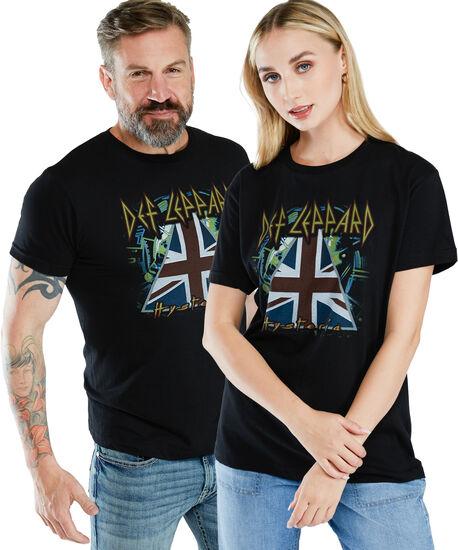 def leppard hysteria tee shirt, Black, hi-res