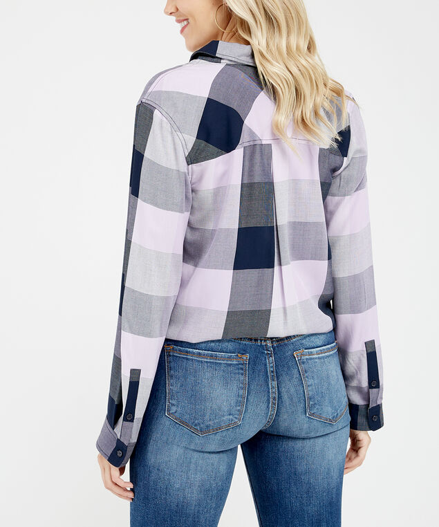 steller, Lilac Plaid, hi-res
