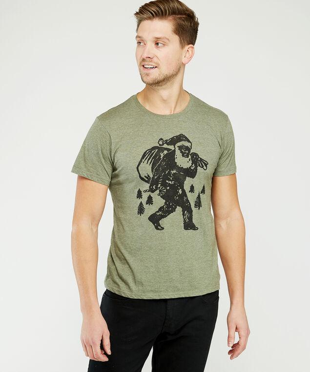 sasquatch santa, Green, hi-res