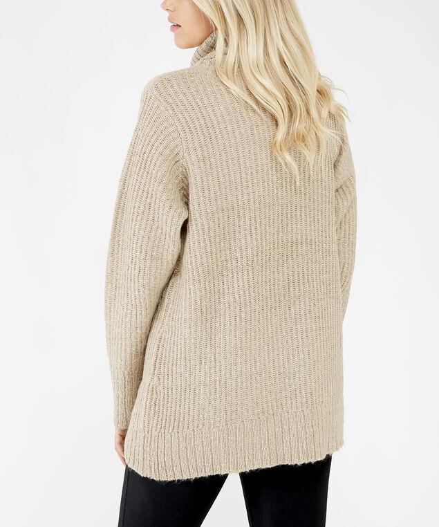 turtleneck sweater - wb, Sand, hi-res