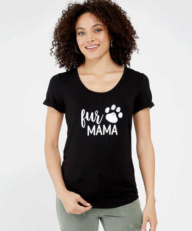 fur mama, BLACK, hi-res