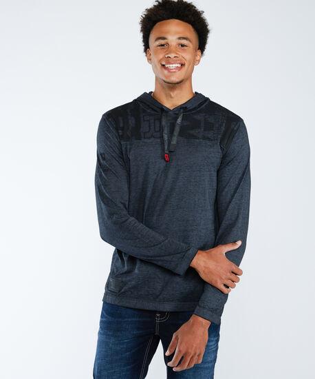 burnout hoodie, Charcoal, hi-res