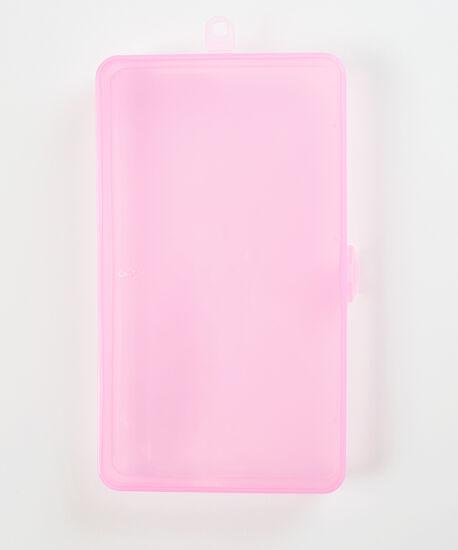 Pink facemask holder, Pink, hi-res