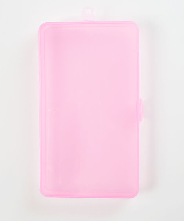 Pink facemask holder, Pink, hi-res