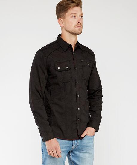 long sleeve shirt, Charcoal, hi-res