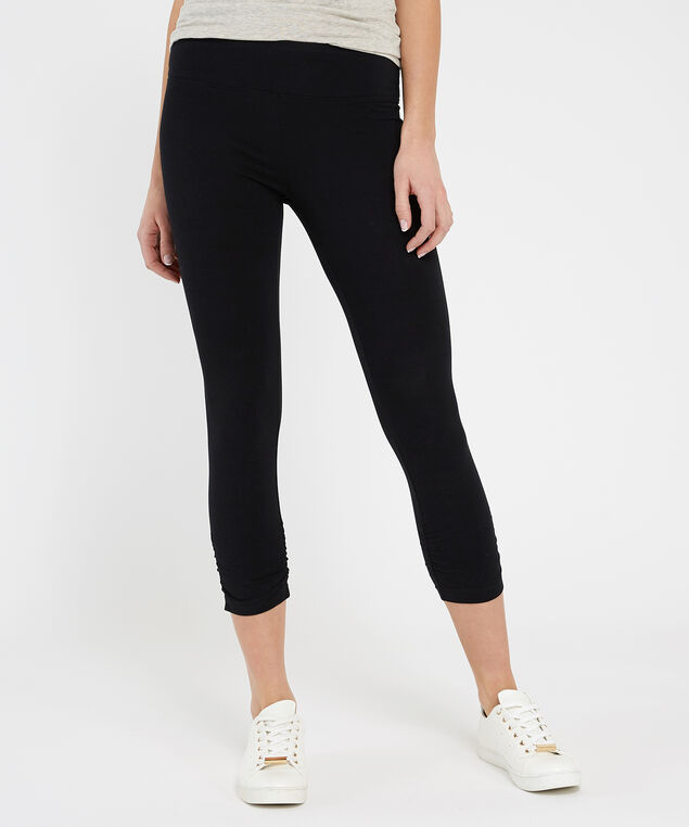 nala crop ruched 19, BLACK, hi-res