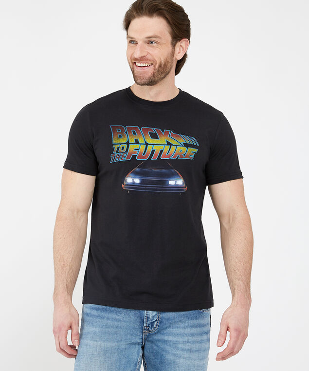 back to the future tee, BLACK, hi-res