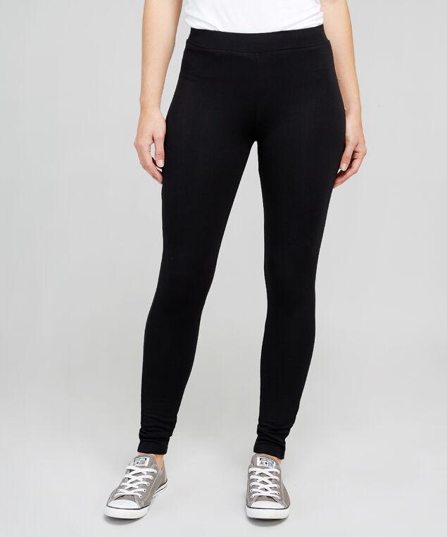 brushed legging 18, BLACK, hi-res
