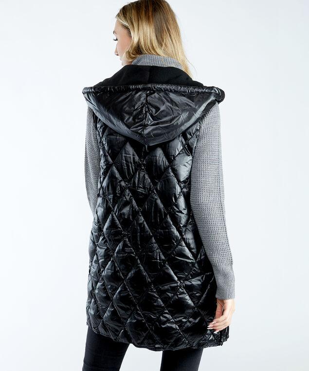 kennedy vest, Black