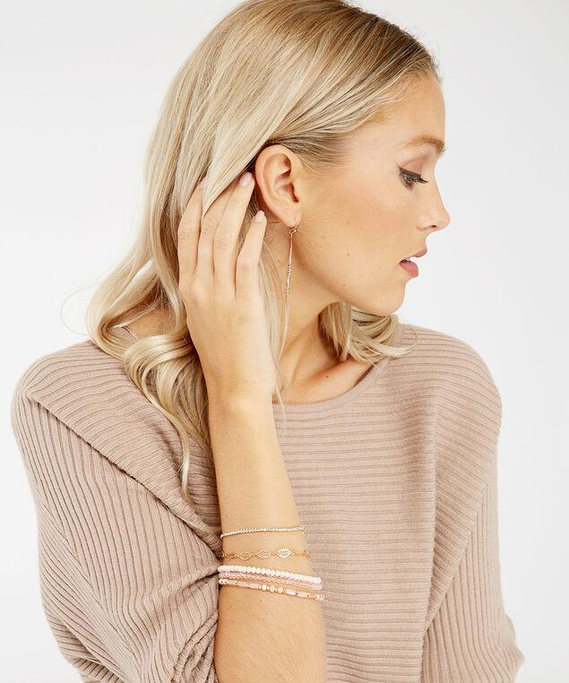 multi layer bracelet, Gold, hi-res