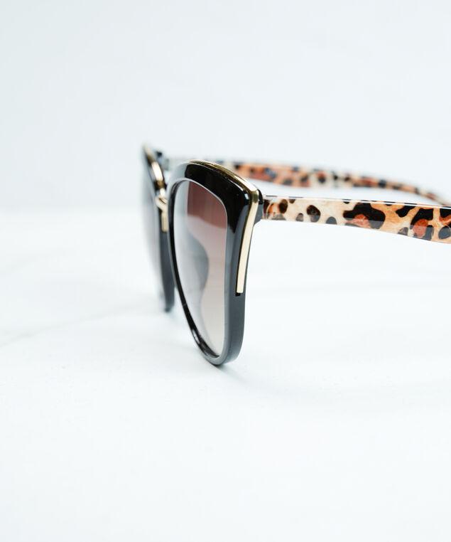 women's cat eye sunglasses, Black