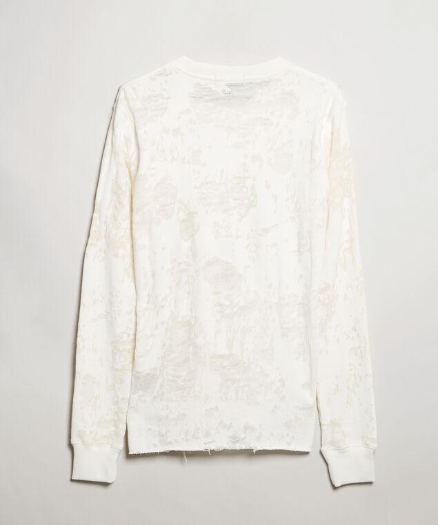 burnout pullover - wb, Ivory, hi-res