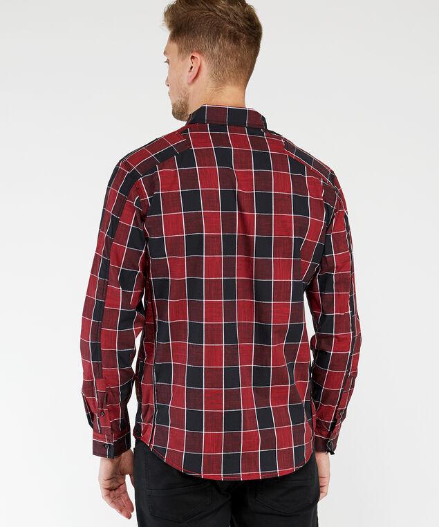 long sleeve shirt, Red, hi-res