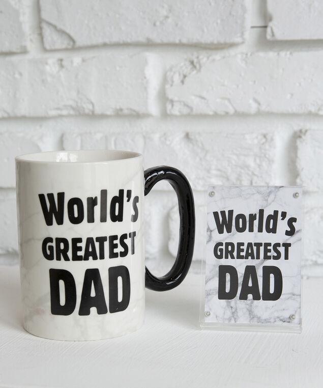 worlds greatest dad mug set, GREY COMBO, hi-res