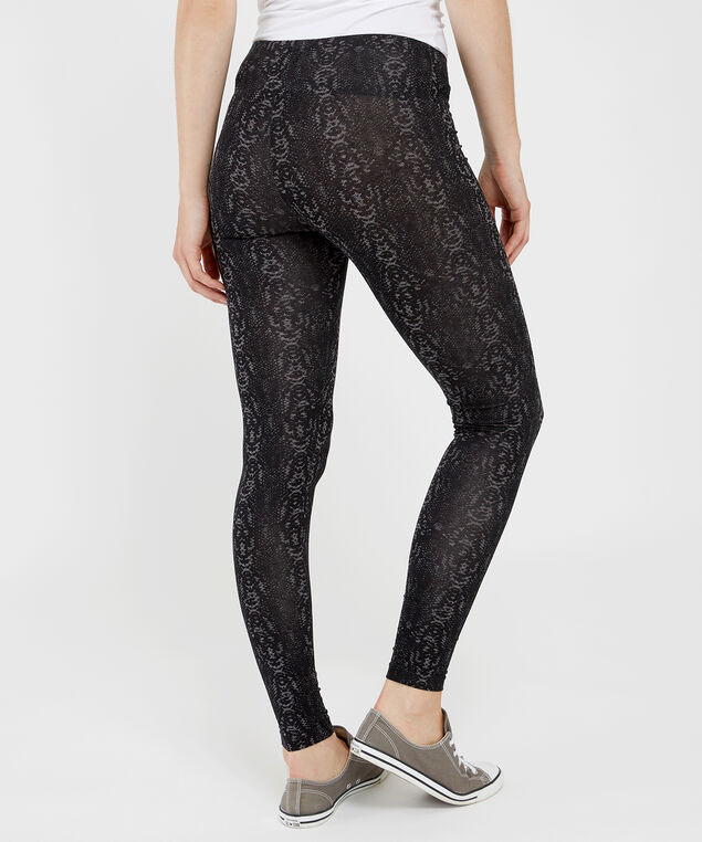 nala snake print legging, BLACK, hi-res