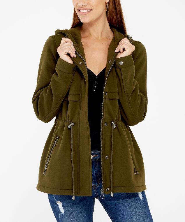sage anorak jacket, Sage, hi-res
