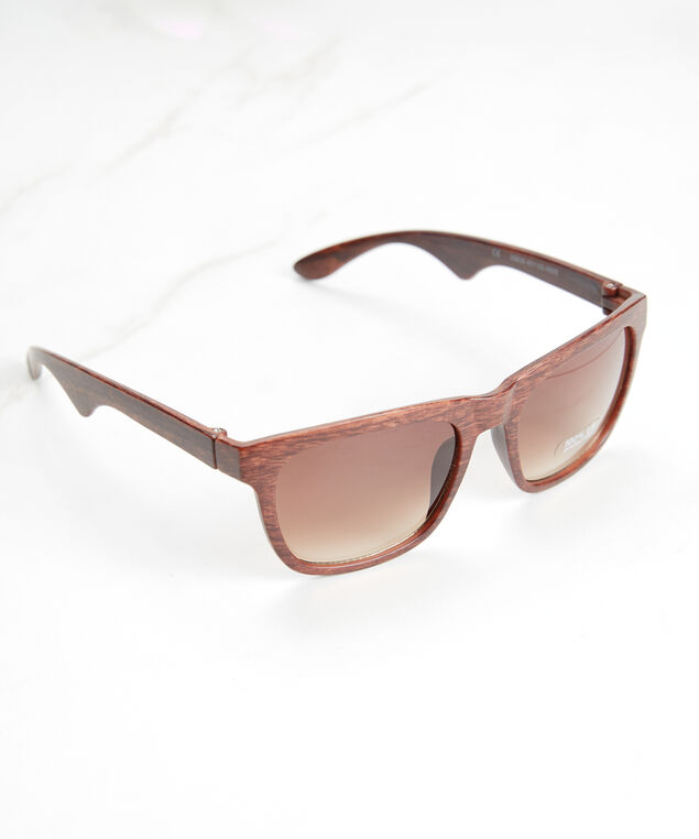 men's wayfarer sunglasses, Brown