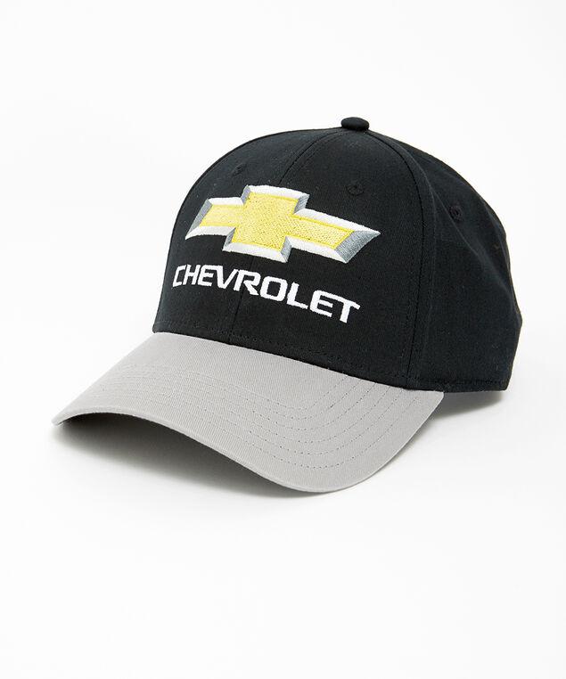 chevrolet ball cap, BLACK, hi-res