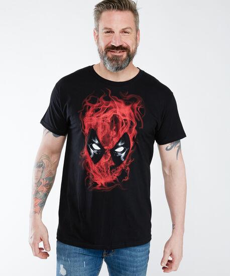 deadpool screen tee shirt, Black, hi-res