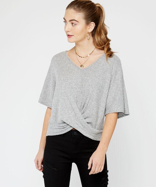 short sleeve, Grey, hi-res