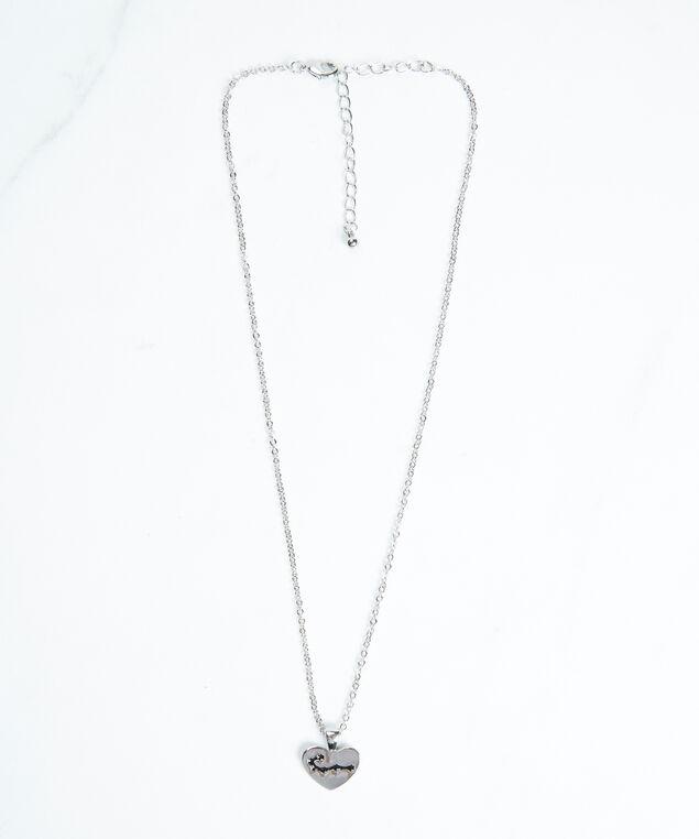 cancer zodiac necklace, Silver