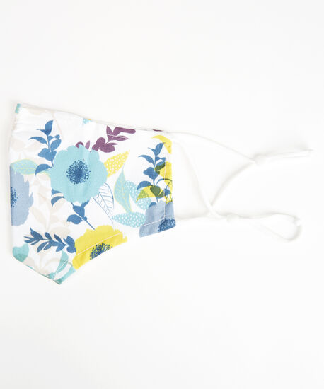 floral print face mask, Multi, hi-res