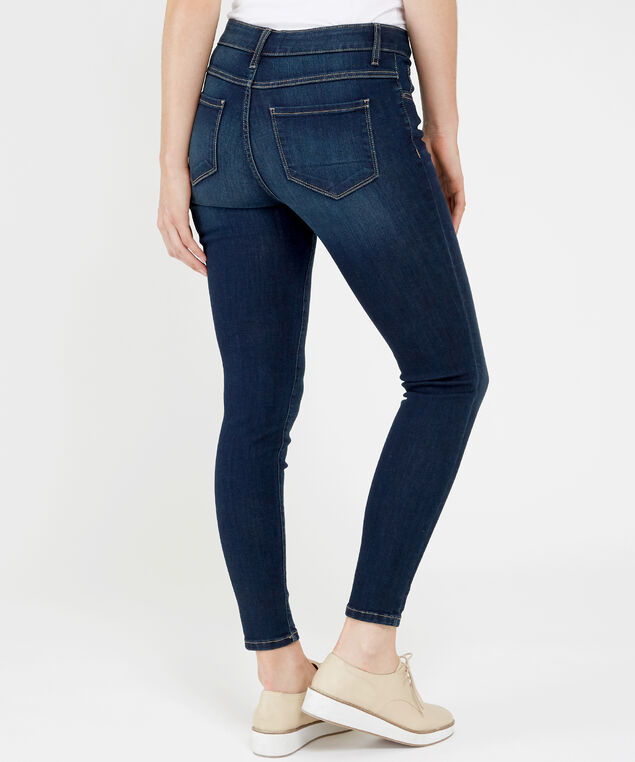 skinny ankle high rise rinse, , hi-res