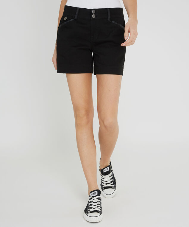 front pocket short - wb, BLACK, hi-res