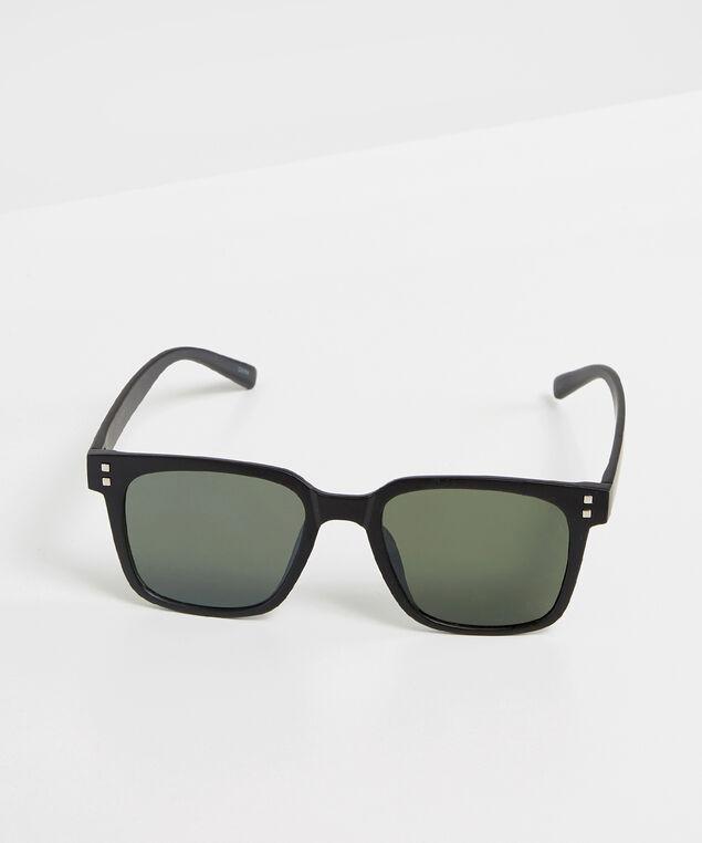 matte black sunglasses, BLACK, hi-res