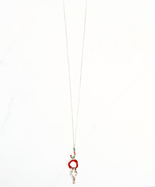 joy pendant necklace, Gold, hi-res