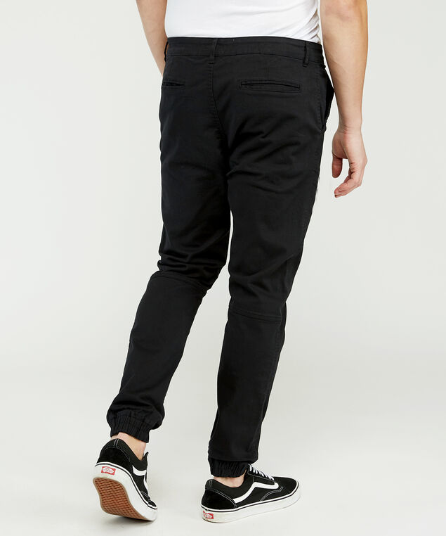 hedge cargo jogger, Black, hi-res