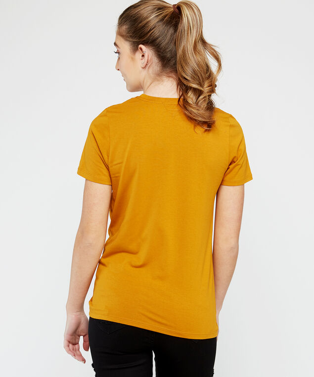 twisted tee - wb, Gold, hi-res