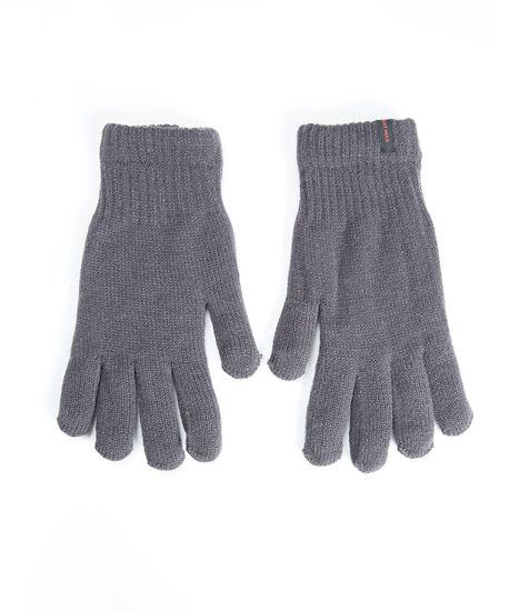 men's heat max gloves, Charcoal, hi-res
